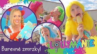 Lollymánie S02E30 - Barevné zmrzky!🍦