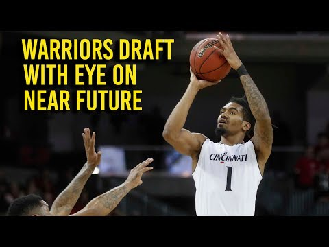 Warriors draft Evans with an eye toward playoff future