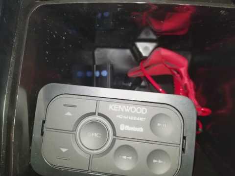Yamaha waverunner bluetooth stereo install