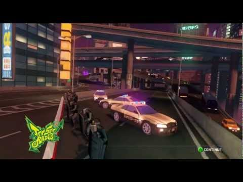 Sonic & Sega All Stars Racing Transformed - Graffiti City with Beat (Jet Set Radio)