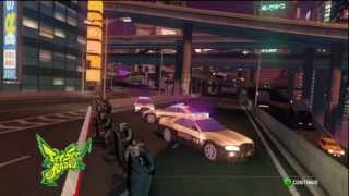 Sonic & Sega All Stars Racing Transformed - Graffiti City with Beat (Jet Set Radio)