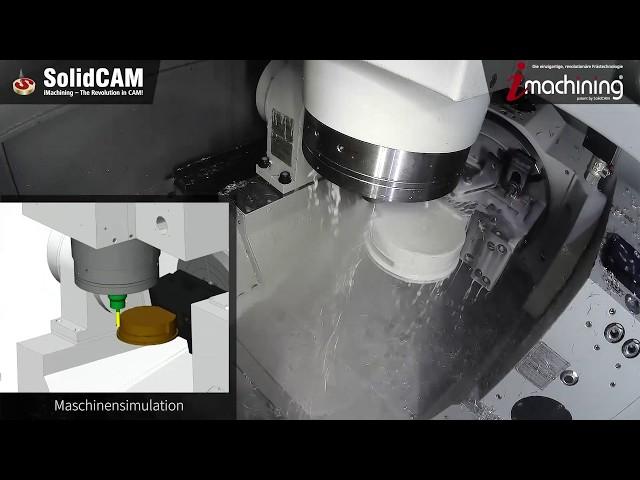 SolidCAM auf der INTEC - Fertigung einer Uhr