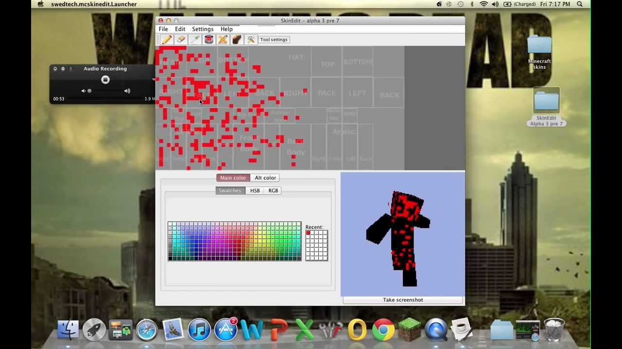 How Do You Make A Minecraft Skin On Mac - Youtube-1426