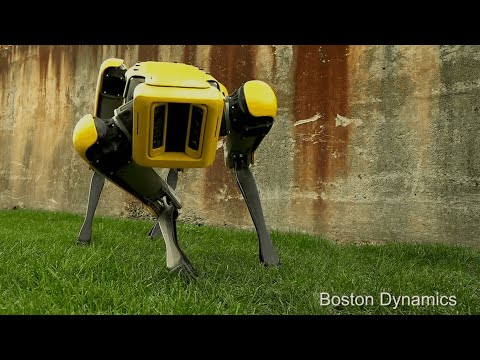 Download Youtube: SpotMini: headless robotic dog makes eerie entrance