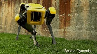 SpotMini: headless robotic dog makes eerie entrance