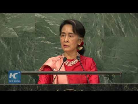 Aung San Suu Kyi: Lack of peace, development causes irregular migration