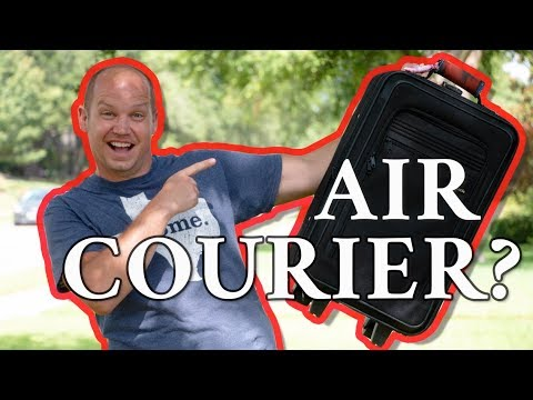 TRAVEL HACK!! How to Save Money Traveling as an Air Courier (using Airmule)