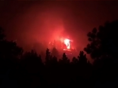 Fire Near Boulder, Colorado Forces Evacuations