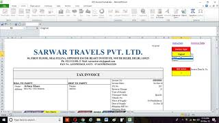 Download excel invoicing utility with data maintenance and gstr 1 hsn wise details for free. this is fully automated that will calculat...