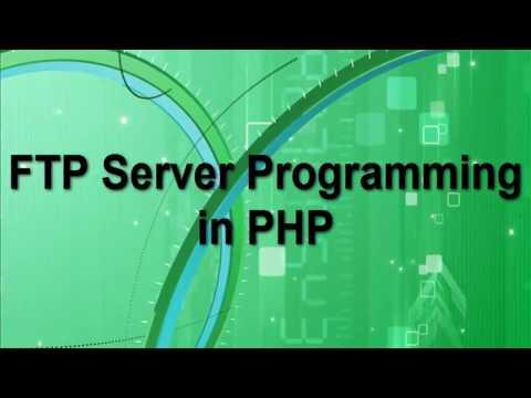 FTP Server Programming In PHP In Hindi