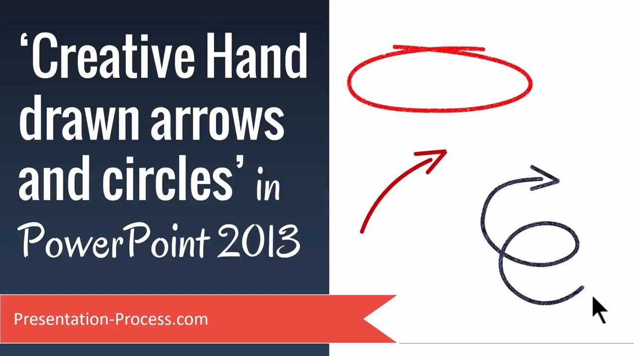 creative hand drawn arrows