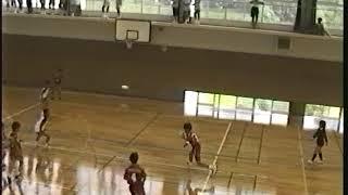 自由ヶ丘中学校 ハンドボール部 福岡県 中体連 筑前地区大会 出場 H10-7-10(その1)