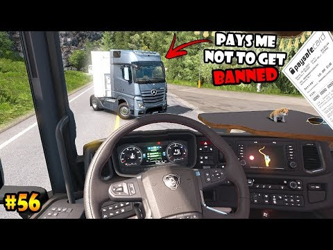 ★ IDIOTS on the road #56 - ETS2MP | Funny moments - Euro Truck Simulator 2 Multiplayer
