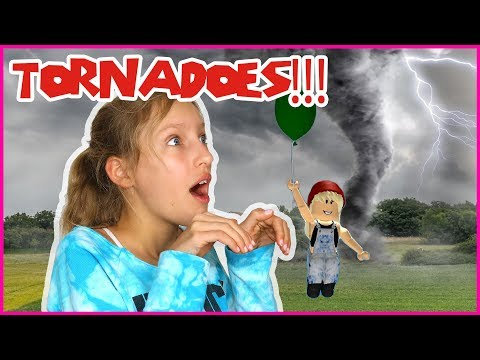 Jumping Into Tornadoes!!!
