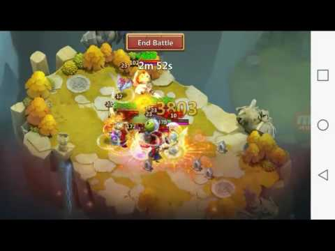 Castle Clash What Do You Think About The New Cupid Skin? + Good Lost Realm Session