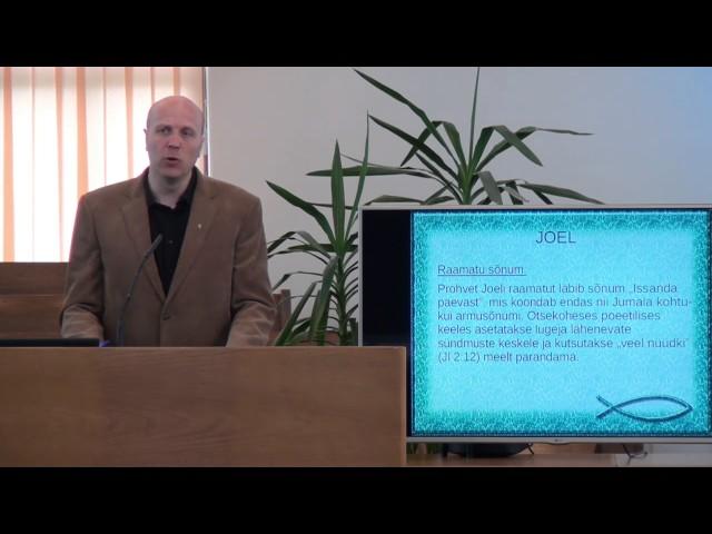 2. loeng – Joeli raamat