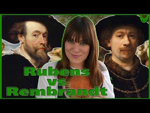 Rubens Y Rembrandt | Vidas BARROCAS | La Gata Verde