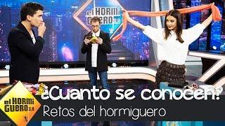 María Pedraza y Jaime Lorente demuestran cuánto se conocen - El Hormiguero 3.0