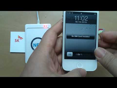 NFC-on-USIM For IPhone4/4S, Just Changing SIM Card, By SK C&C