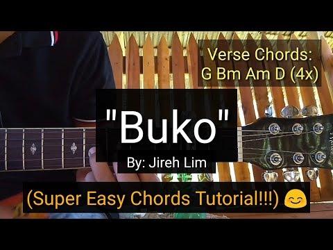 Buko - Jireh Lim (Super Easy Chords Guitar Tutorial)