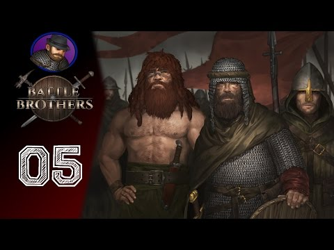 Let's Play Battle Brothers - Ep. 5 - Preemptive attack!