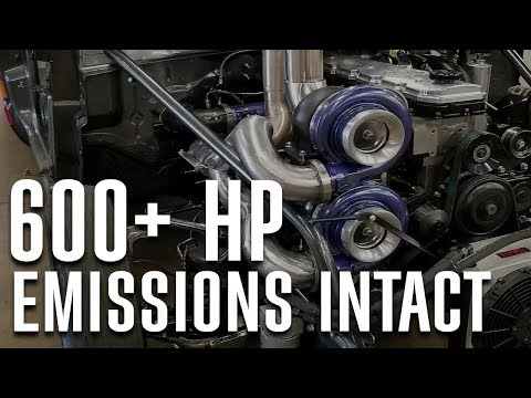 600+ HP with Emissions Intact