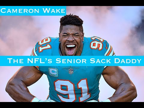 [OC] The Story Of Cameron Wake: The NFL's Senior Sack Daddy