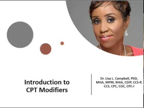 Introduction To CPT Modifiers