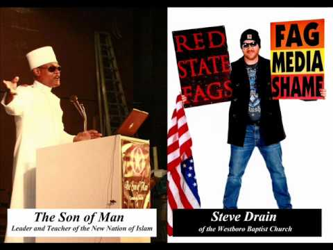 Westboro Baptist Church debates the New Nation of Islam