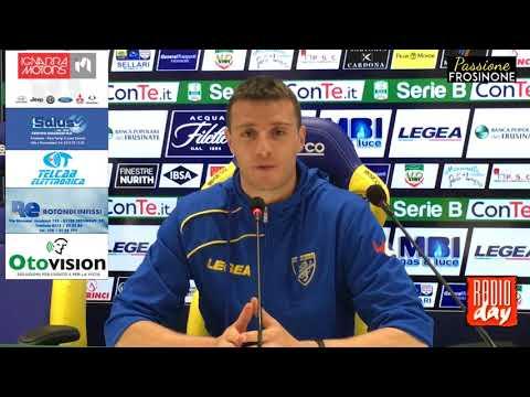 18/05/2018: Frosinone – Foggia 2 – 2, conferenza stampa Daniel Ciofani