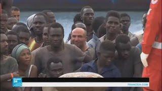 سفينة نرويجية تنقذ آلاف المهاجرين في البحر المتوسط