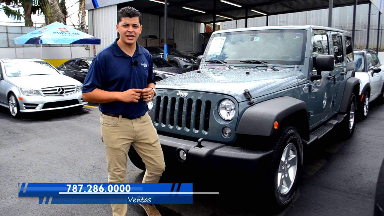 Jeep Wrangler 2014 Aviles Auto Caguas Puerto Rico Youtube