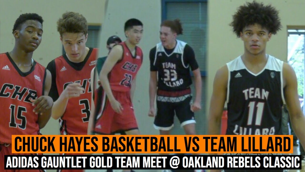 newest 146cb 6d22a 16u Chuck Hayes Basketball vs 16u Team Lillard | Adidas Gauntlet Gold Teams  Meet in Oakland!