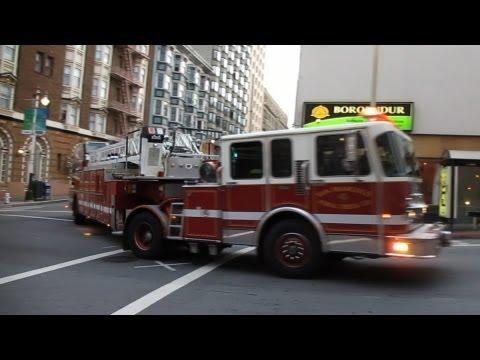 San Francisco Fire Department @ Jones St & Post St San Francisco California
