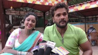 Aatankwadi (आंतकवादी ) भोजपुरी फिल्म   खेसारीलाल यादव   अदाकारा शुभी शर्मा EXCLUSIVE Interview !!!