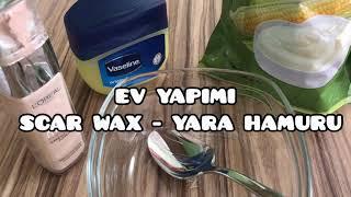 DIY - Evde Scar Wax/Yara Hamuru yapımı | Scar Wax Nasıl Yapılır? | SFX-Plastik Makyaj Hamuru Yapımı