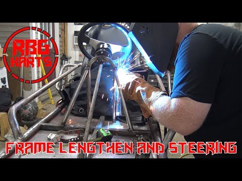 Street Go Kart Steering and Frame Extending