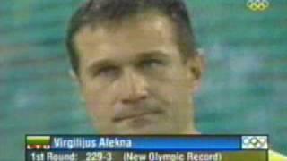 2004 Olympic Games Men's Discus Final Virgilijus Alekna