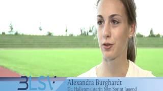 Portrait Alexandra Burghardt Leichtathletik