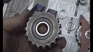 Теория ДВС: Башмак натяжителя цепи ВАЗ-2101