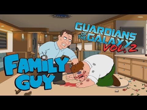Family Guy (Guardians of the Galaxy Vol.  2 Opening Scene Style)