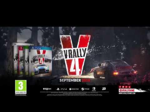 V-Rally 4 - Announcement Trailer #1