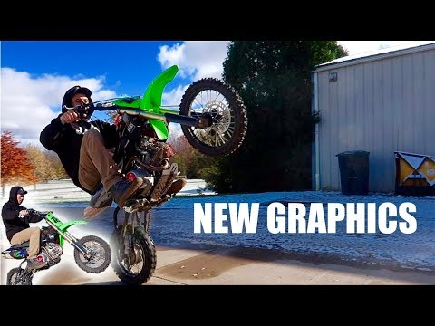 FACTORY Pit Bike GRAPHICS REVEAL + GIVEAWAY