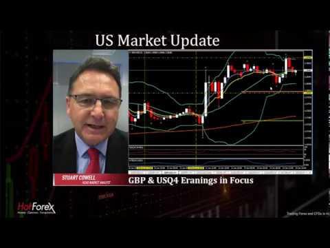 GBP and US Earnings season in focus