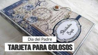 TARJETA PARA PADRES GOLOSOS - TUTORIAL   LLUNA NOVA SCRAP