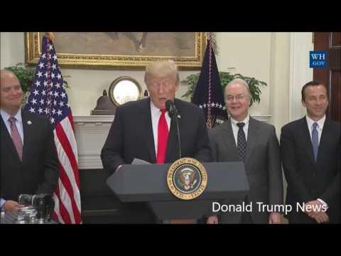 President Trump Makes 'Major' Announcement On Pharmaceutical Initiative