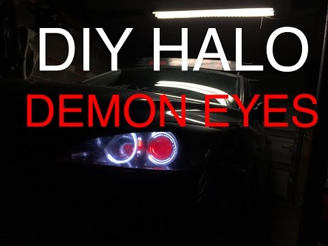 [How-to] Install Halo & Demon Eyes (Mazda 3) [HD]
