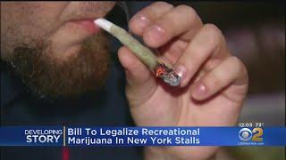 New York Marijuana Legalization: Bill Stalls In Legislature