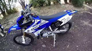 Yamaha WR 250 2t ENDURO (2016) ||  FIRST RIDE