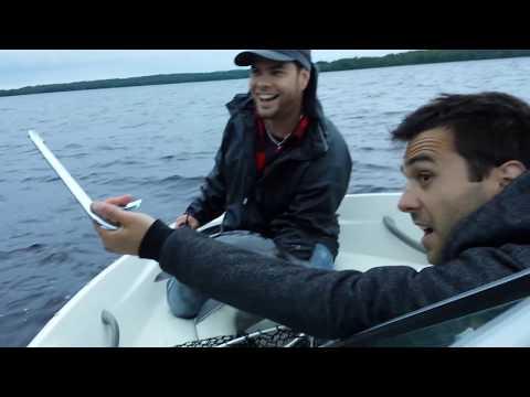 Pêche surprise sur le Réservoir Baskatong - La Pointe à David